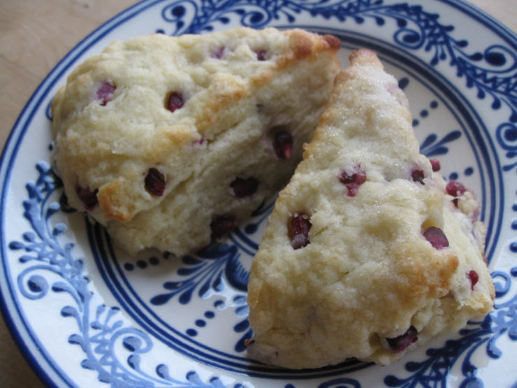 Pomegranate Scones | One Wooden Spoon