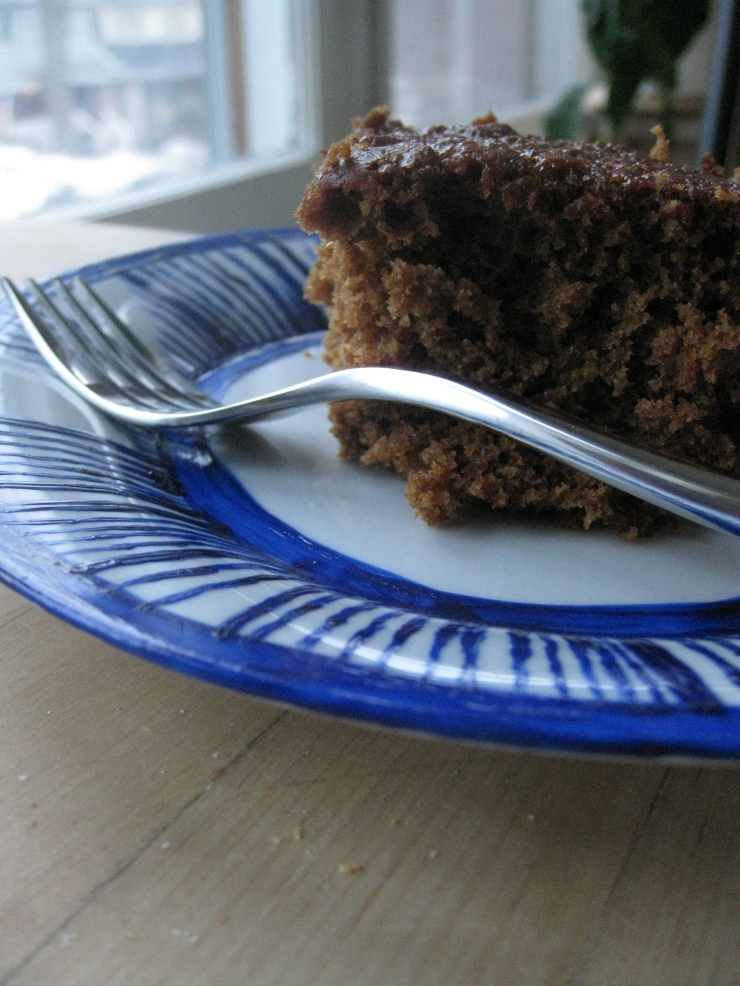 Sticky Gingerbread | One Wooden Spoon
