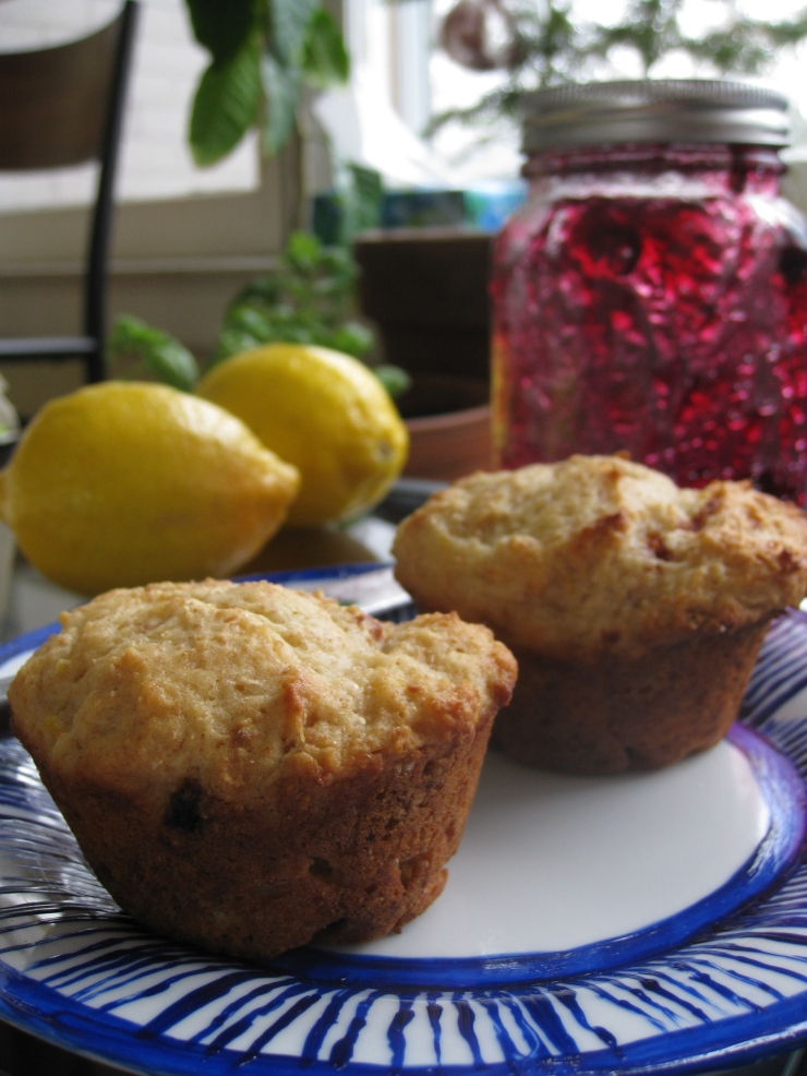 One Wooden Spoon | Lemon-Yogurt Muffins