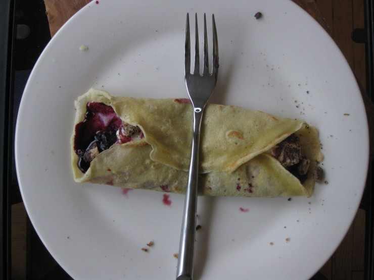 Cookies-Gone-Wrong Crepes | One Wooden Spoon