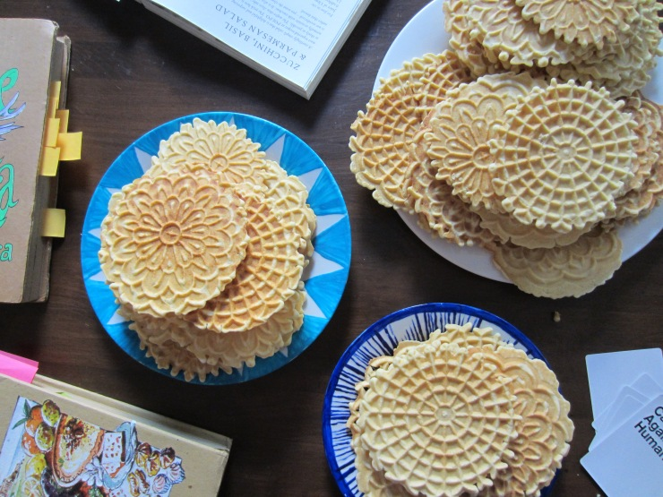 Pizzelle | One Wooden Spoon