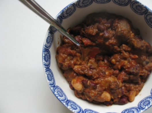 Chicken Heart Chili | One Wooden Spoon
