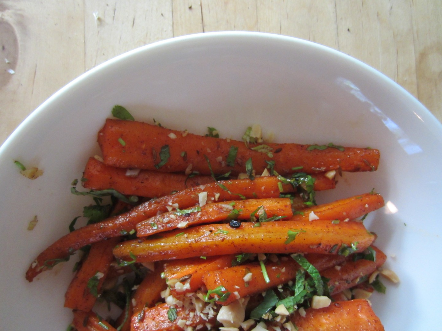 Glazed Carrot Salad | One Wooden Spoon