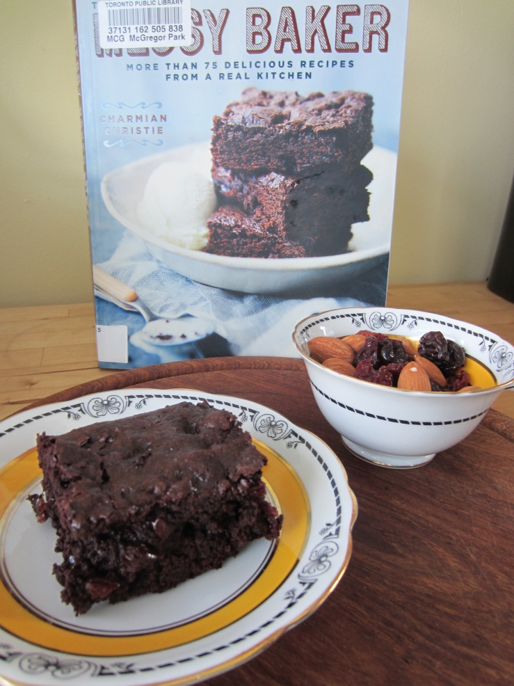 Cherry Chipotle Brownie | One Wooden Spoon